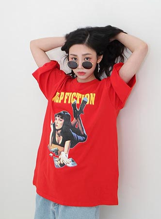 PULP FICTION TEE (only black!)