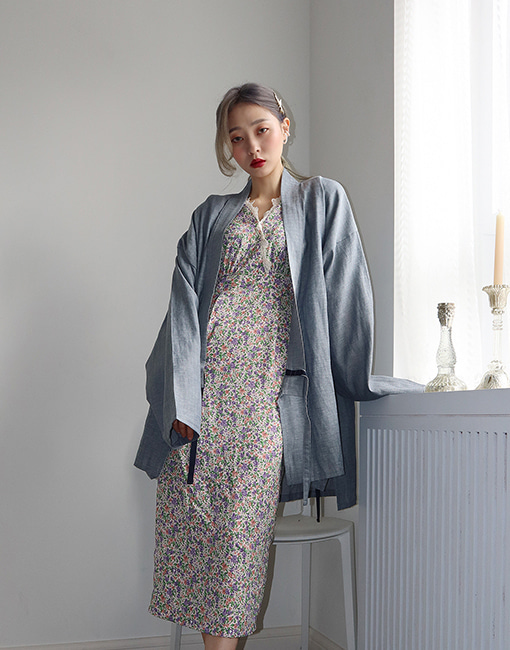 Summer linen yukata (2 colors)