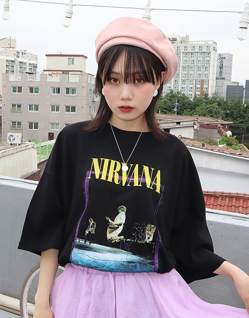 NIRVANA box t-shirt