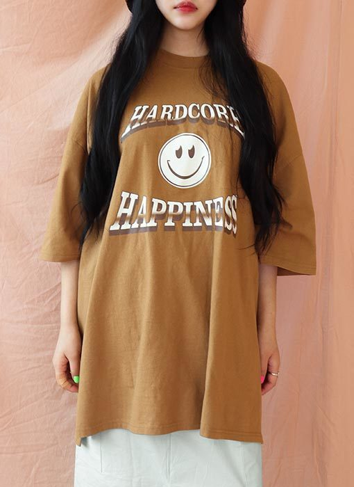 HAPPINESS TEE(3 colors)