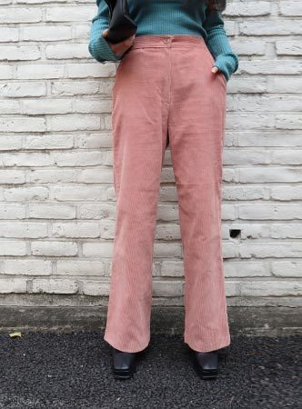 corduroy  wide pants (2 colors)
