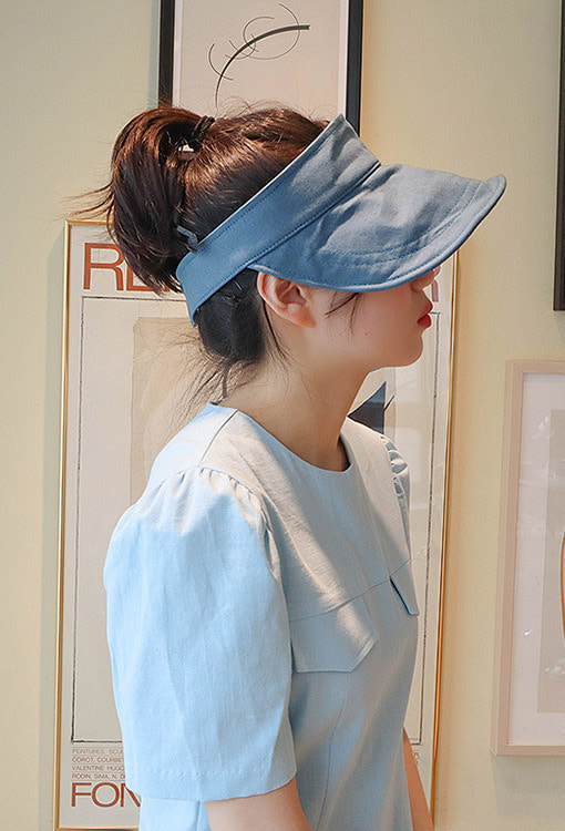 linen sun visor (5 colors!)