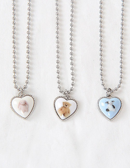 animal friends necklace (3 types)